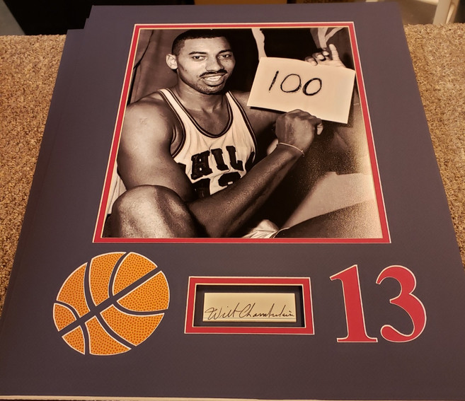 Wilt 100 Point Game