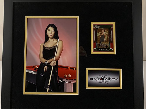 Jeanette Lee The Black Widow Billiards Autographed Card
