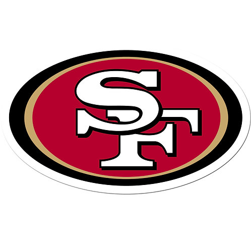 "San Francisco 49ers 8"" Auto Decal"