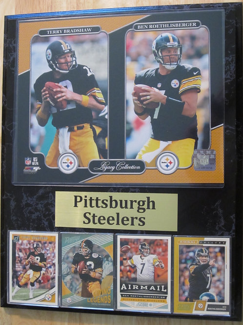 Pittsburgh Steelers QB Legacy Plaque