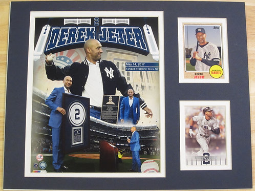 Derek Jeter Matted Photo