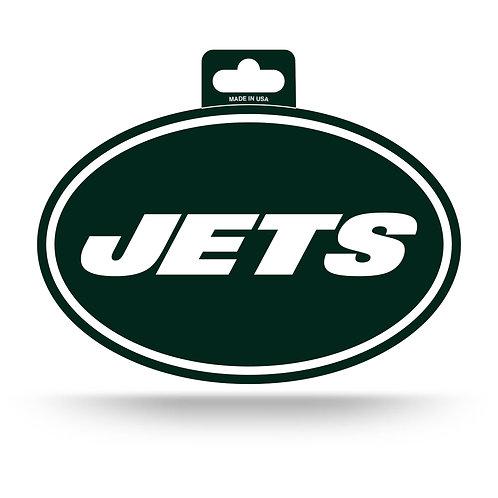 New York Jets Oval Sticker