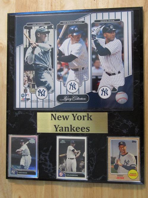 New York Yankees Legacy Plaque
