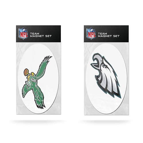 Philadelphia Eagles Retro 2-Pack Magnet Set