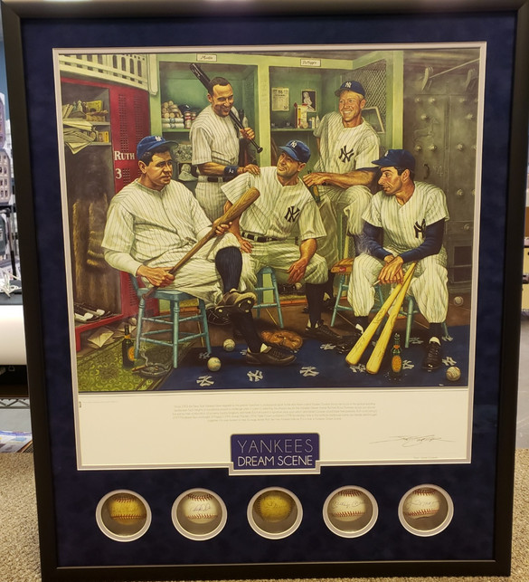 Custom New York Yankees Memorabilia