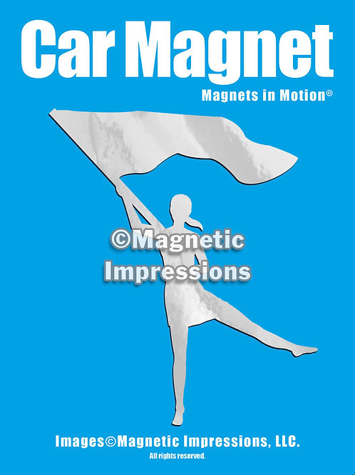 Color Guard Magnet in Motion
