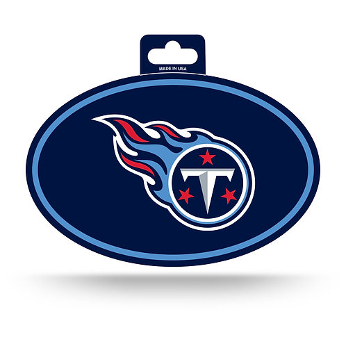 Tennessee Titans Oval Sticker