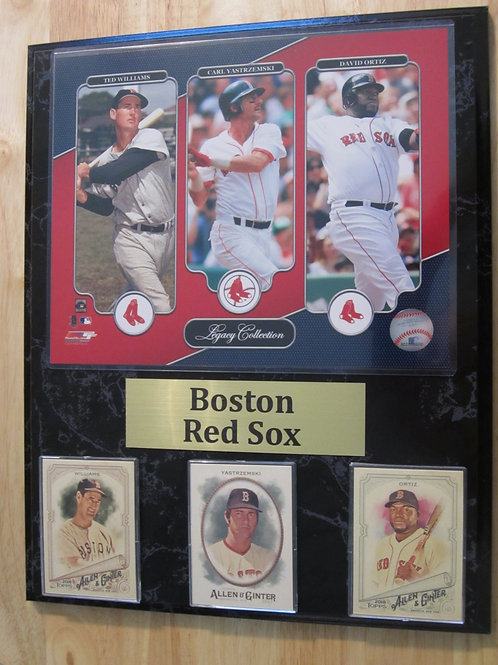 Boston Red Sox Legacy Plaque