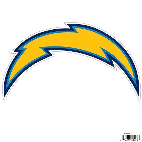 """Los Angeles Chargers 8"""" Logo Magnet"""