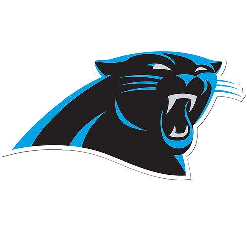 """Carolina Panthers 8"""" Auto Decal"""
