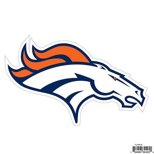 """Denver Broncos 8"""" Logo Magnet"""
