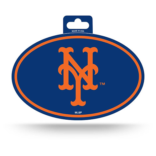 New York Mets Oval Sticker