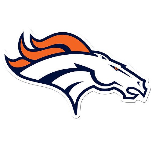 "Denver Broncos 8"" Auto Decal"