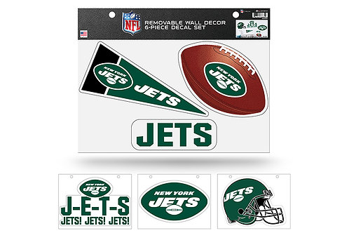 New York Jets6 pack Wall Decals