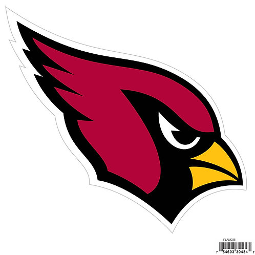 "Arizona Cardinals 8"" Logo Magnet"
