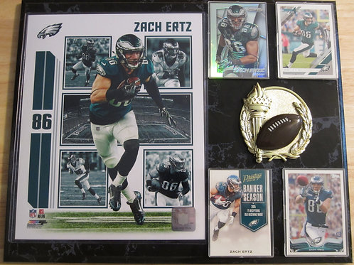 Zach Ertz Plaque