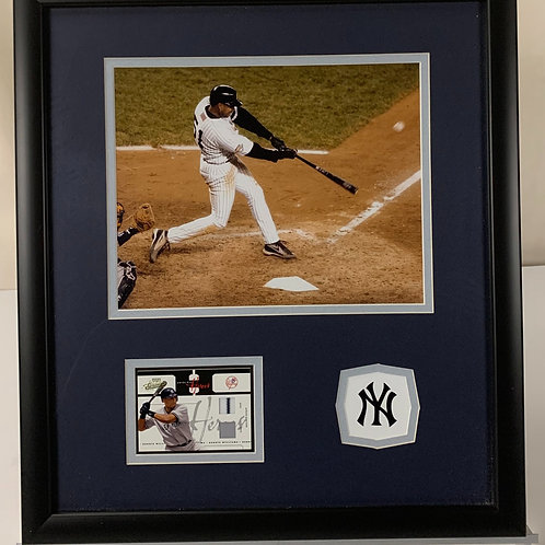 New York Yankees Bernie Williams Autographed