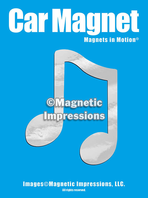 Musical Notes Magnet in Motion