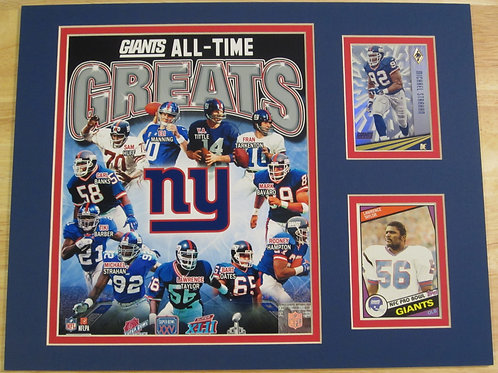 New York Giants All-Time Greats Matted Photo