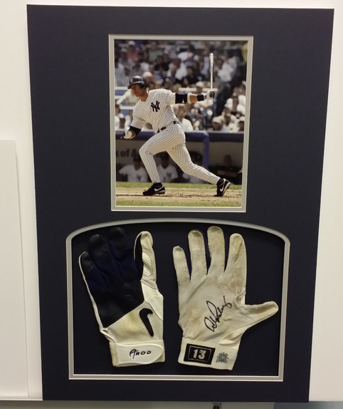 Alex Rodriguez Game Worn Gloves