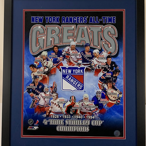New York Rangers All Time Greats