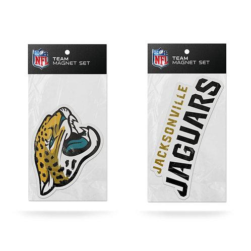 Jacksonville Jaguars 2-Pack Magnet Set