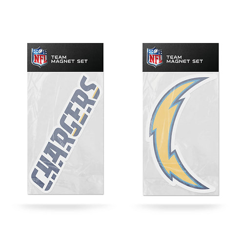 Los Angeles Chargers 2-Pack Magnet Set