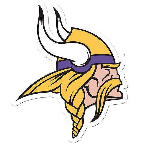 "Minnesota Vikings 8"" Auto Decal"