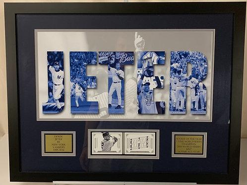 New York Yankees Derek Jeter Game Used Jersey Captain Clutch