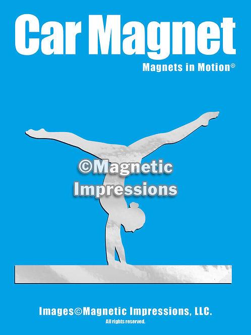 Gymnast Handstand Magnet in Motion