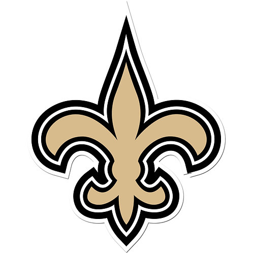 "New Orleans Saints 8"" Auto Decal"