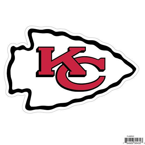 """Kansas City Chiefs 8"""" Logo Magnet"""