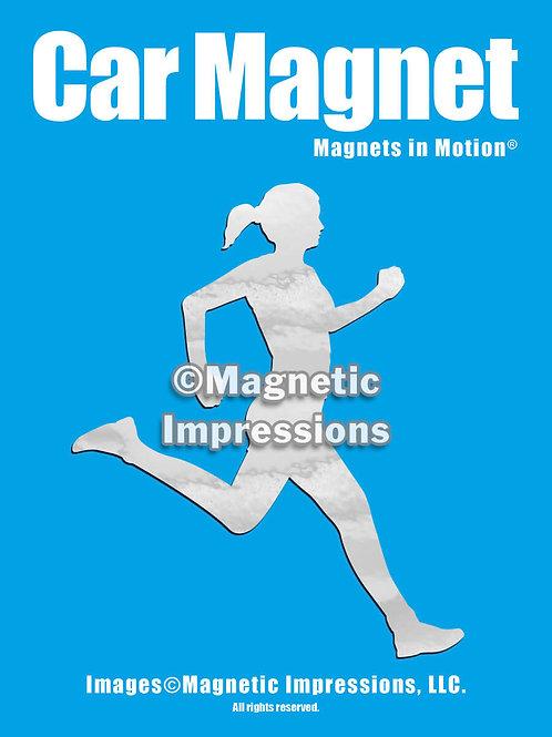 Runner Magnet in Motion