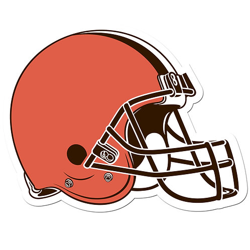 """Cleveland Browns 8"""" Auto Decal"""