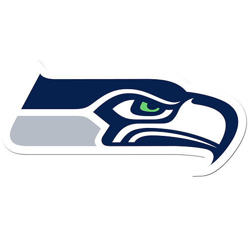"Seattle Seahawks 8"" Auto Decal"