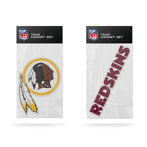 Washington Redskins 2-Pack Magnet Set