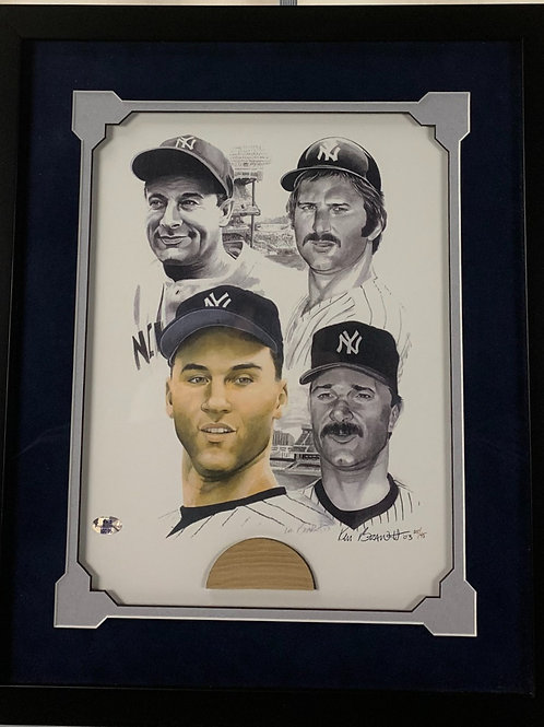 New York Yankees Derek Jeter Game Used Bat
