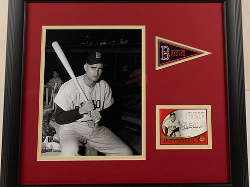 Boston Red Sox Bobby Doerr Autographed Card