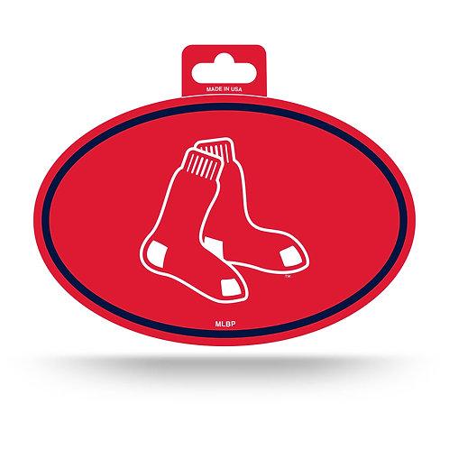 Boston Red Sox Oval Sticker