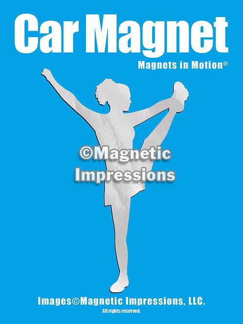 Cheerleader Magnet in Motion