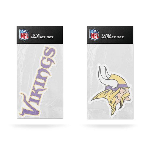 Minnesota Vikings 2-Pack Magnet Set