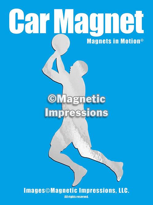 Basketball Magnet in Motion