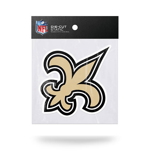 New Orleans Saints Static Cling