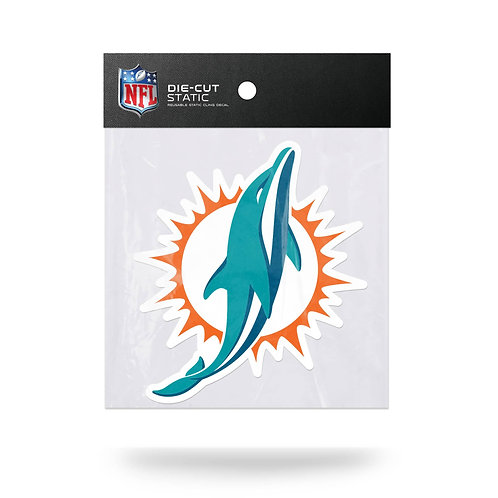 Miami Dolphins Static Cling
