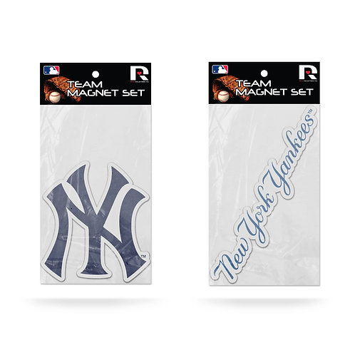 New York Yankees 2-Pack Magnet Set