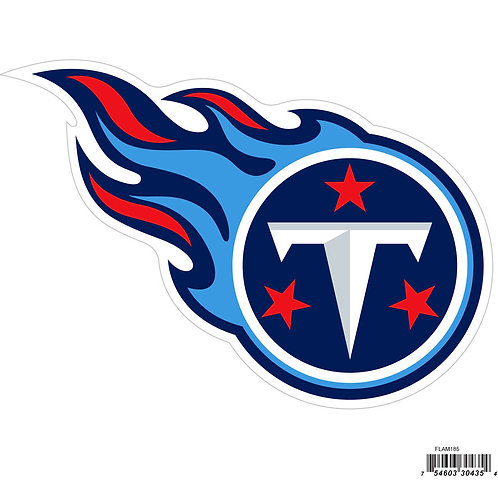 "Tennessee Titans 8"" Logo Magnet"