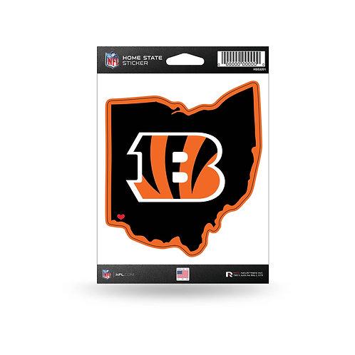 Cincinnati Bengals Home State Sticker