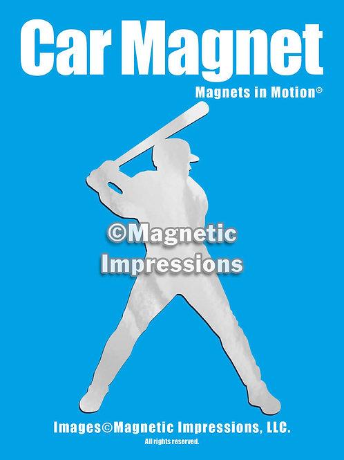 Baseball Batter Magnet in Motion