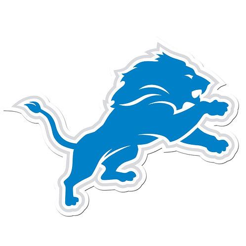 """Detroit Lions 8"""" Auto Decal"""