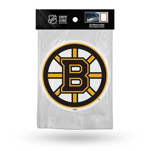 Boston Bruins Static Cling